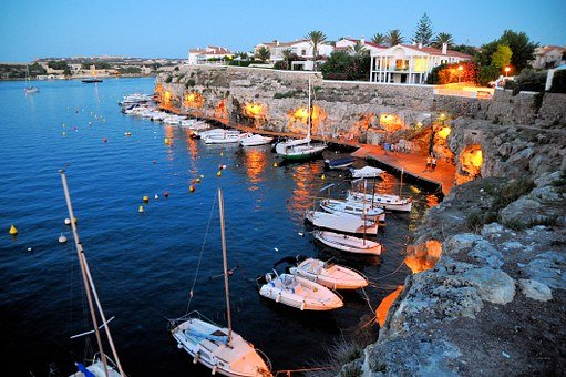 Spain, Balearic Islands, Mediterranean, Menorca