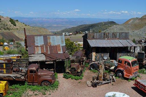 Jerome, Arizona, Town, Old, Copper, Desert, Ghost