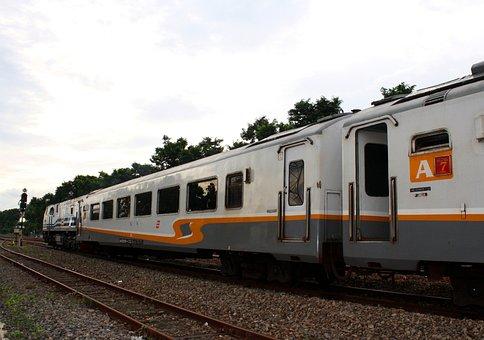 Train, Transportation, Locomotive, Railway, Kereta Api
