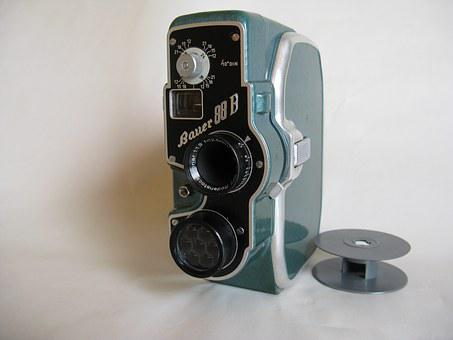 Old Camera, Film Camera, Lens, 1954, Narrow, Normal 8
