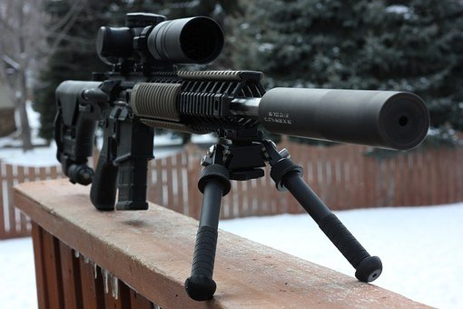 Gun, Sniper, Rifle, Military, Airsoft, Firearm, Weapon