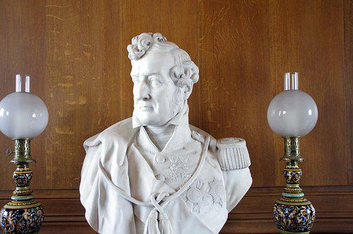 Louis-philippe, Bust, King, France, King Of The French