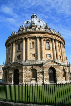 Oxford, England, Library, Uk, Architecture, Oxfordshire