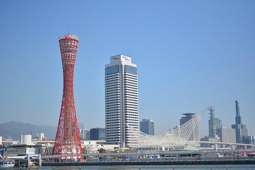 Kobe, Tower, Kobe Maritime Museum, Harborland