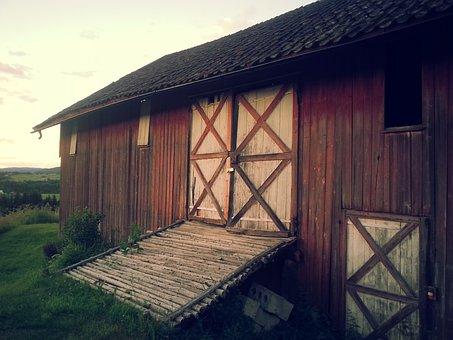 Barn, Farm, Rural, Country, Farming, Countryside