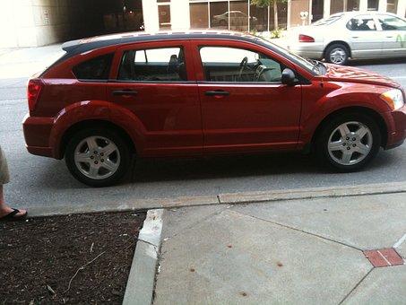 Car, Dodge, Caliber, Vehicle, Drive, Automobile, Auto