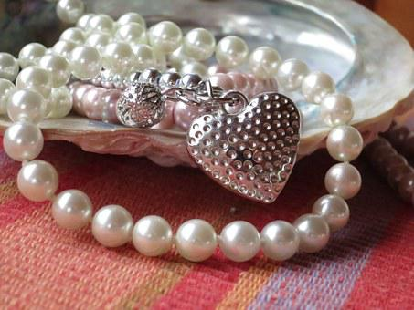 Pearl Necklace, Shell, Jewellery, Mother Of Pearl