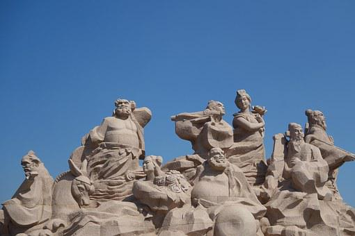 Penglai, The Eight Immortals, Travel