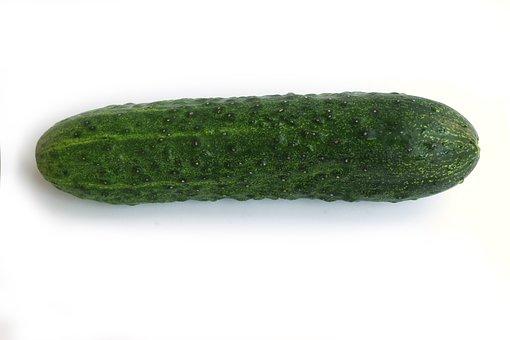 Cucumber, Green, Vegetable, Long, Fresh, Vitamin