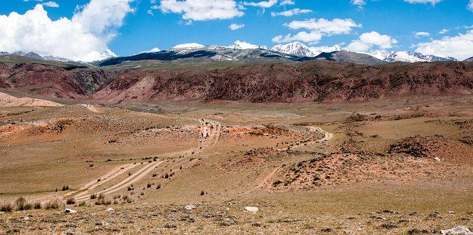 Mountains, Landscape, Mountain, Nature, Blue Sky, Rocks