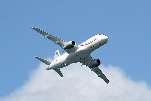 Cityjet, Superjet Ssj100, The Plane, Low Pass, Aviation