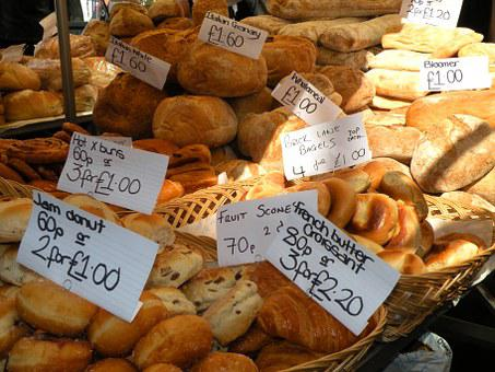 Bread, Food, Market, Price, London, Portobello