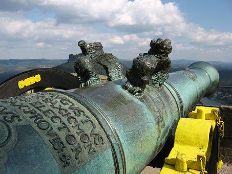 Gun, Fortress Doncaster, Saxon Switzerland, Old