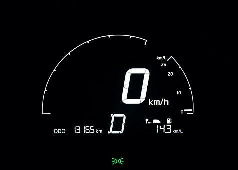 Speedometer, The Instrument Panel, Dash Board Lights