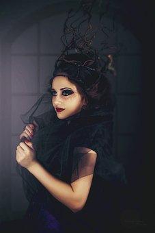 Woman, Girl, Fantasy, Portrait, Model, Jewellery