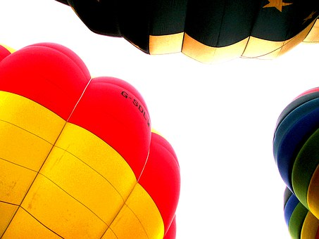 Hot Air Balloon, Envelope, Gores