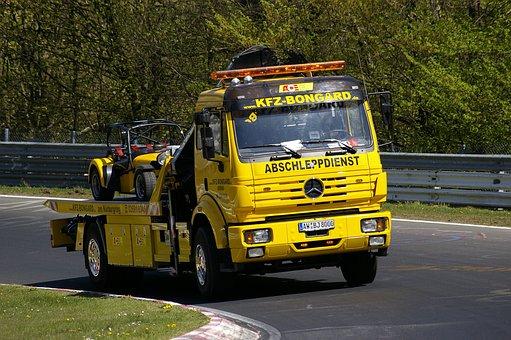 Towing Service, Nordschleife, Breakdown, Auto