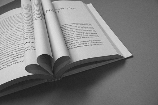 Book, Open Book, Mind, Renew, Black And White, Paper
