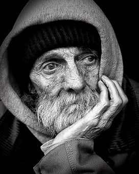 People, Peoples, Homeless, Male, B W, Poverty, Social