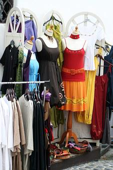 Shop, Dress, Clothing Store, Sale, Purchase, Street