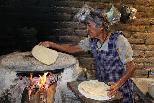 Women, Poverty, Tori, Indian, Mexico, Oaxaca, Chatina