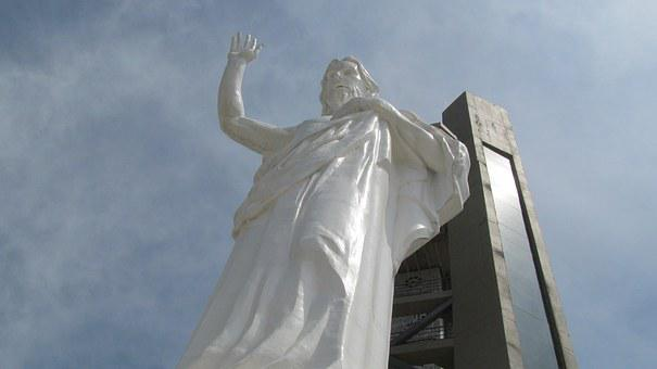 Statue, The Blessed Sacrament, Bucaramanga, Colombia