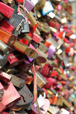 Love Locks, Love, Castle, Friendship, Padlocks, Symbol