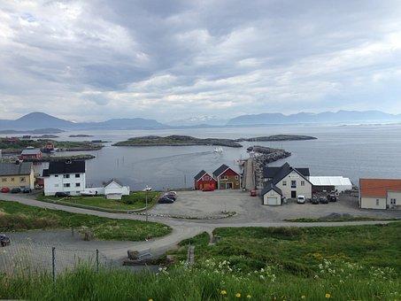 Bid, Norway, Port, Sea, The Coastal