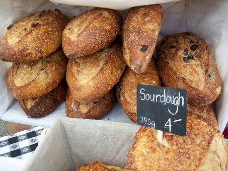 Breads, Loaves, Artisan, Fresh, Bakery, Brown, Wheat