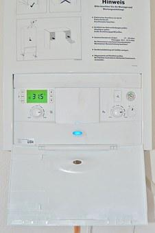 Heating, Gas Water Heater, Cerapur, Control Unit