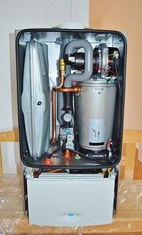 Heating, Gas Water Heater, Cerapur, Junkers