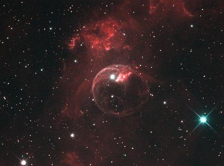 Ngc 7635, Bubble Nebula, Emission Nebula