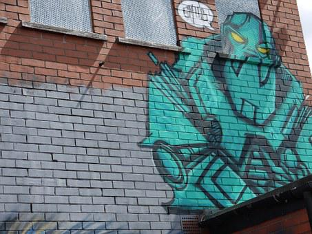 Street Art, Grafitti, Backdrop, Colorful, Color