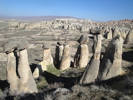 Turkey, Cappadocia, Fairy Chimneys