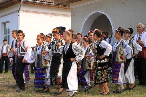 Children, Dancing, Ensemble, Folk, Gorj, Izvorasul