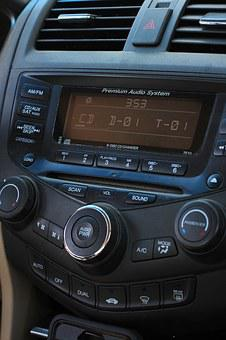 Radio, Car, Device, Automobile, Parts, Transport