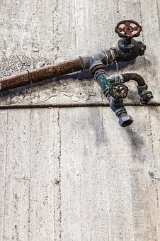 Rusty Pipe, Old, Abandoned Factory, Rusty, Pipe, Metal