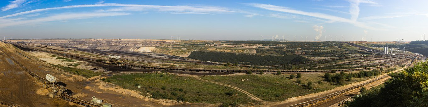Brown Coal Mining, Brown Coal, Open Pit Mining, Carbon