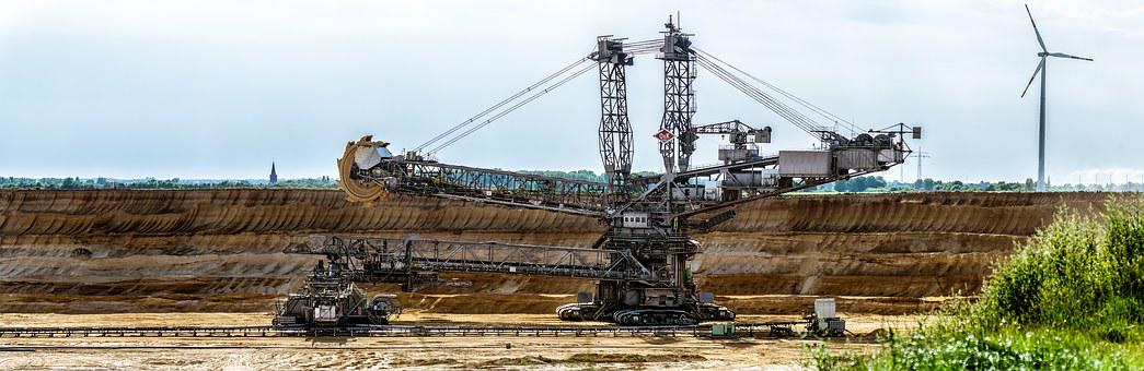 Excavators, Bucket Wheel Excavators, Open Pit Mining
