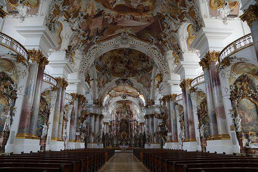 Zwiefalten, Church, Monastery, Religion, Faith, Münster