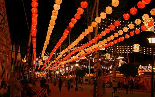 Light Garland, Garland Lights, String Lights, Seville