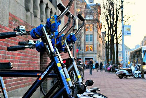 Amsterdam, Bikes, City, Netherlands, Europe, Holland