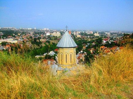 Georgia, Tb, Tbilisi, City, Architecture, Caucasus