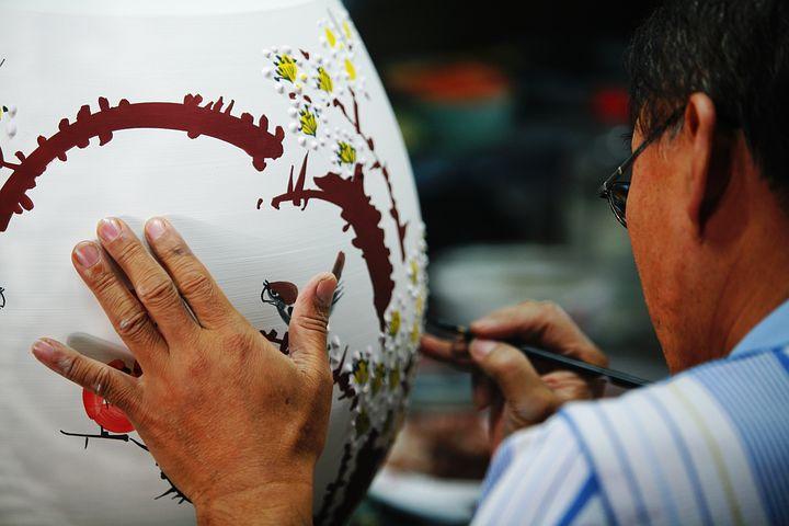 Porcelain, Master, The Main, Paint, Art, Tie