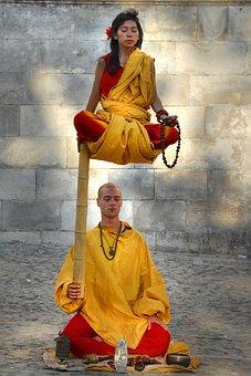 Zen, Magic, Meditation, Concentration, Bonze