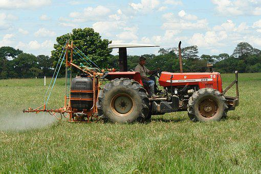Tractor, Tillage, Fumigation