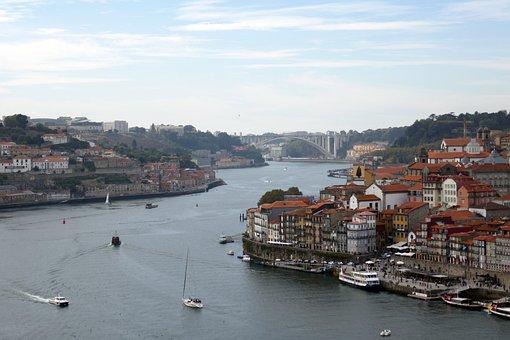 Porto, Portugal, River, Architecture, Historical