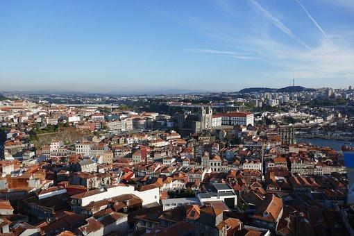 Porto, Portugal, City, Architecture, Building