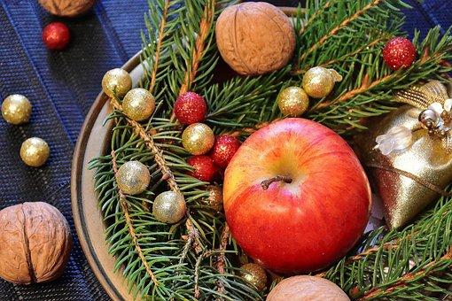 Advent, Walnuts, Nuts, Christmas, Christmas Time