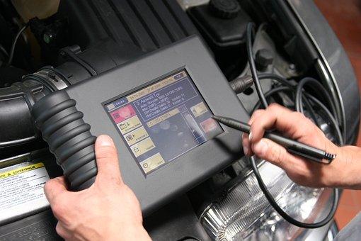 Diagnosis, Auto Repair, Workshop, Test Device